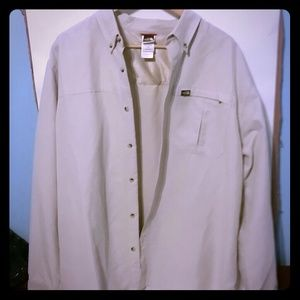 The North Face Men's button up long sleeve shirt